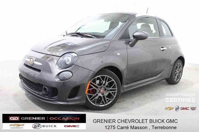 2015 Fiat 500 Abarth *CUIR + TOIT OUVRANT + SIn++GES CHAUFFANTS* in Terrebonne, Quebec