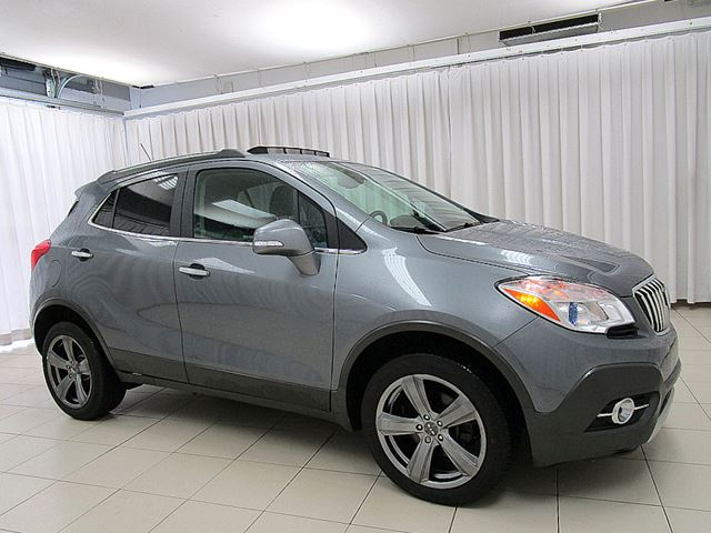 2014 Buick Encore Leather AWD SUV w/ MOONROOF, LEATHER & BACK UP  in Halifax, Nova Scotia