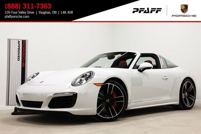 2017 Porsche 911 Targa 4S PDK in Woodbridge, Ontario
