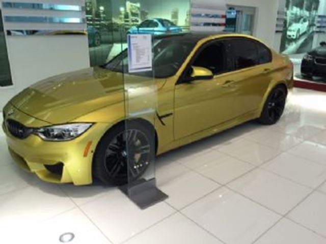 2015 BMW M3 Premium, M Carbon Ceramic Brake, Dinan Performance Parts + in Mississauga, Ontario