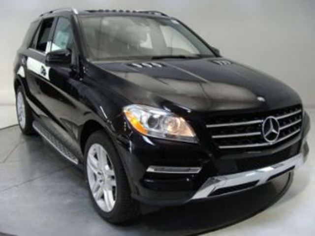 2013 MERCEDES-BENZ M-CLASS ML350 Diesel 4MATIC Every Package & FCLP in Mississauga, Ontario