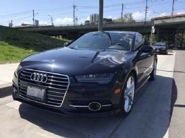 2017 AUDI A7 MANAGER DRIVEN TOP OF THE LINE 2017 A7! ONLY $888 PLUS HST in Mississauga, Ontario