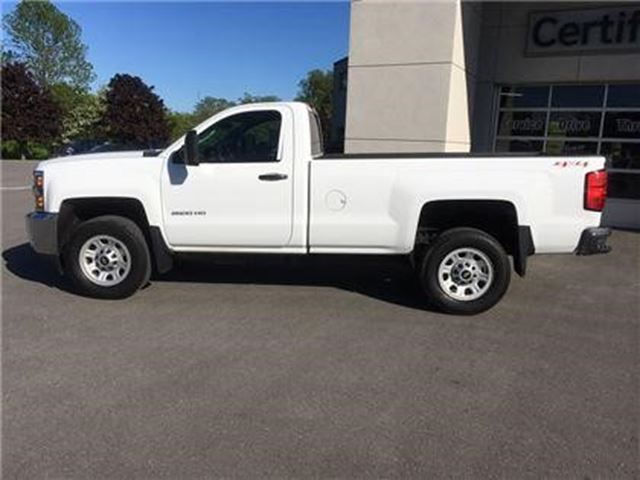 used 2015 chevrolet silverado 2500hd 8 cy wt port hope. Black Bedroom Furniture Sets. Home Design Ideas