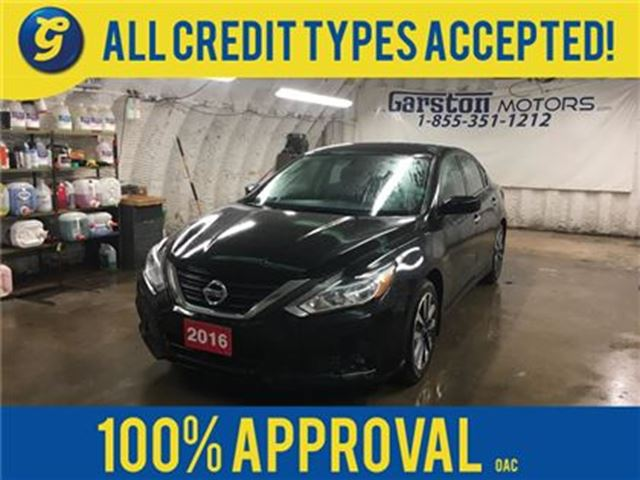 2016 NISSAN ALTIMA SV*REMOTE START*BACK UP CAMERA*PHONE CONNECT*KEYLE in Cambridge, Ontario