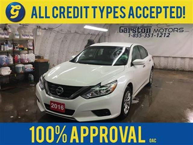 2016 NISSAN ALTIMA S*BACK UP CAMERA*KEYLESS ENTRY*POWER DRIVER SEAT*P in Cambridge, Ontario