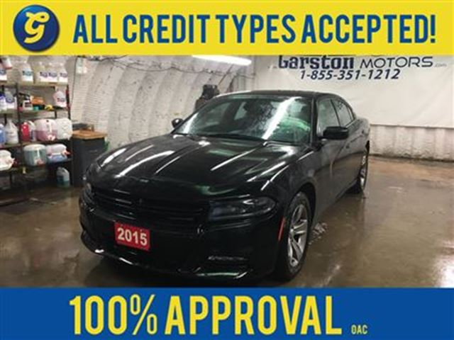 2015 DODGE CHARGER SXT*Uconnect 8.4A AM/FM/SXM/BT/Navigation Ready*In in Cambridge, Ontario