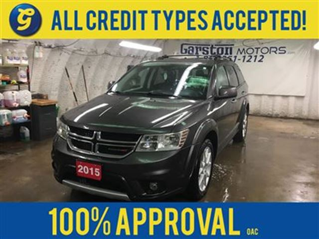 2015 DODGE JOURNEY R/T*AWD*Leather Trimmed Bucket Seats*All Wheel Dri in Cambridge, Ontario