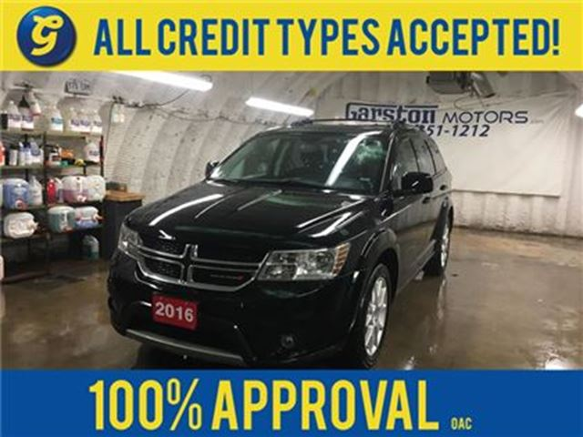 2016 DODGE JOURNEY LIMITED*POWER SUNROOF*REAR DVD PLAYER*BACK UP CAME in Cambridge, Ontario