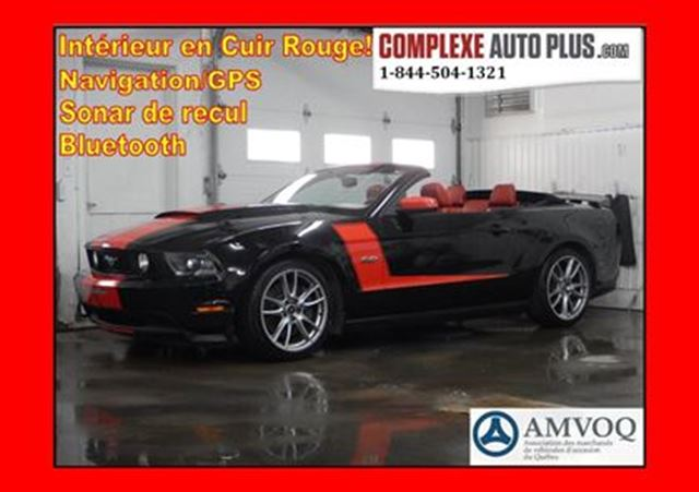 2012 Ford Mustang GT V8 5.0L Convertible *WOW UNIQUE in Saint-Jerome, Quebec