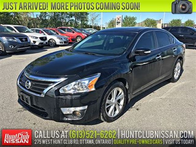 2014 Nissan Altima 2.5 SL Tech   Navigation, Sunroof, Leather in Ottawa, Ontario