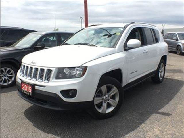 2015 Jeep Compass NORTH**4X4**BACK UP CAM**HEATED SEATS** in Mississauga, Ontario