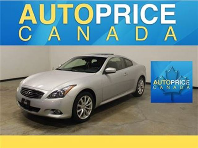 2013 INFINITI G37 x NAVIGATION MOONROOF AWD in Mississauga, Ontario