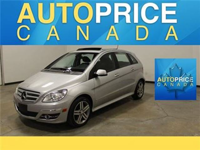 2011 Mercedes-Benz B-Class B200 Turbo PANOROOF ALLOYS in Mississauga, Ontario