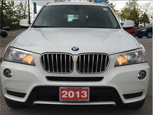 2013 BMW X3 xDrive28i - LOW KMS, ONE OWNER, ACCIDENT-FREE in Scarborough, Ontario
