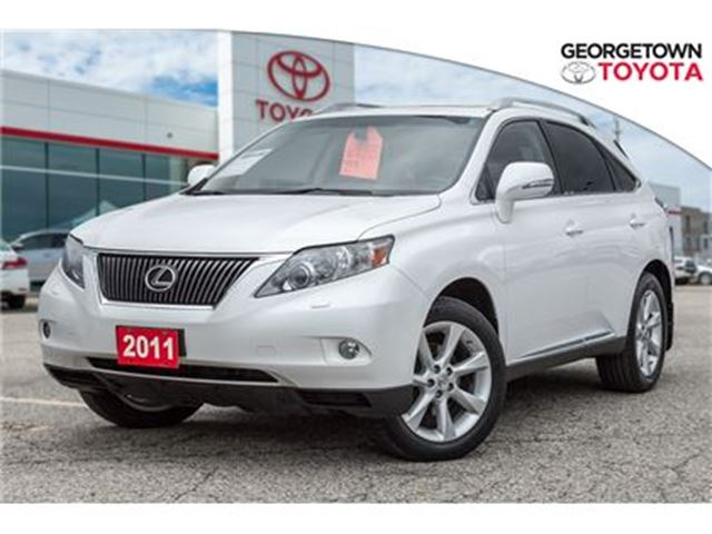 2011 Lexus RX 350 Navigation, 2 sets of alloys and tires! in Georgetown, Ontario