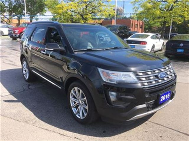 2016 Ford Explorer Limited AWD in Burlington, Ontario