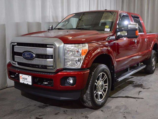 2015 Ford F-350 Lariat 4x4 SD Crew Cab 6.75 ft. box 156 in. WB SRW in Red Deer, Alberta