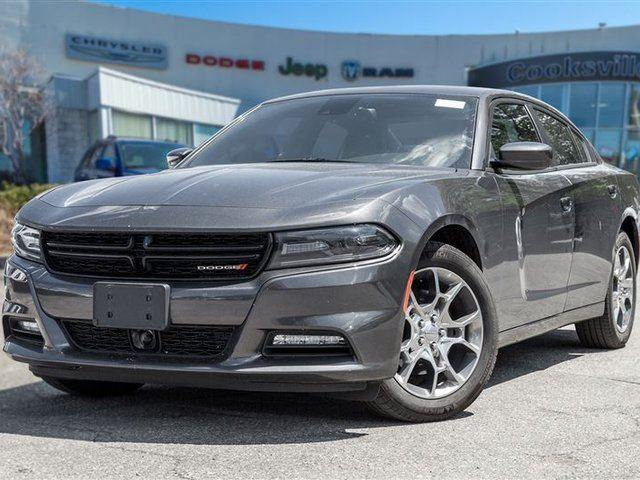 2016 Dodge Charger SXT AWD, COLLISION WARNING, ROOF in Mississauga, Ontario