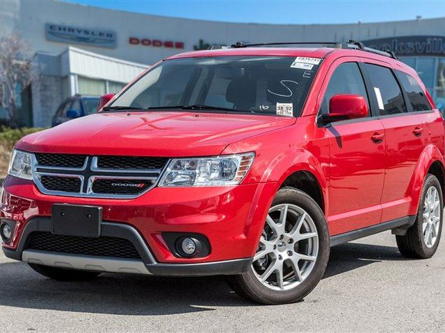 2016 Dodge Journey Limited, DVD, SUNROOF in Mississauga, Ontario