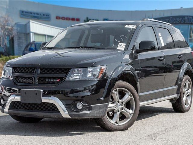 2016 Dodge Journey Crossroad, 7 PASS, NAVI, SUNROOF in Mississauga, Ontario