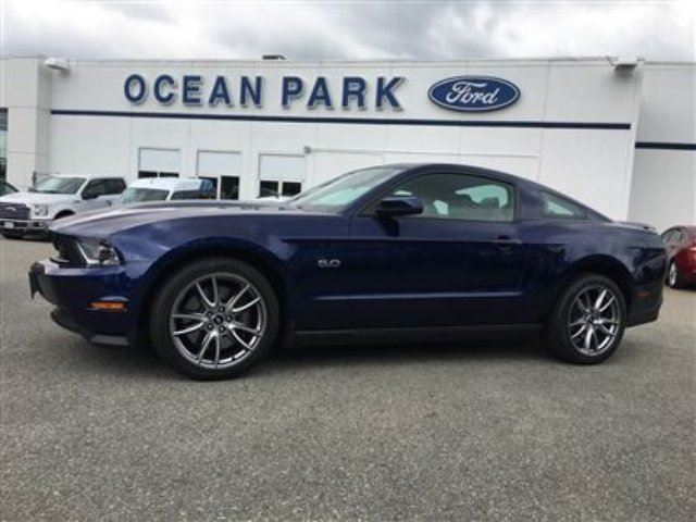2012 Ford Mustang GT PREMIUM COUPE-HID LIGHTS, GT BRAKE PKG in Surrey, British Columbia