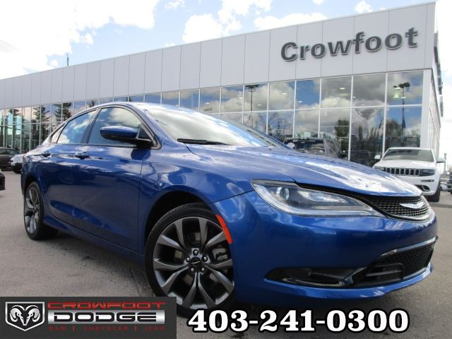2016 Chrysler 200 S in Calgary, Alberta