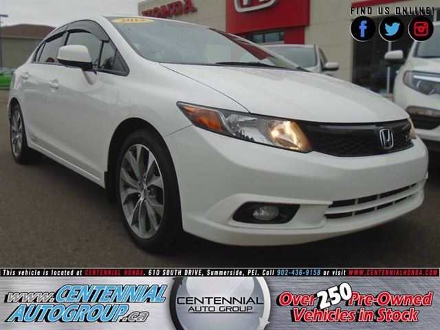 2012 Honda Civic Si in Summerside, Prince Edward Island
