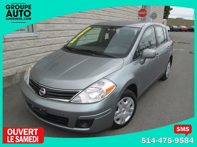 2012 Nissan Versa *AUTO*A/C*82000KM* in Longueuil, Quebec