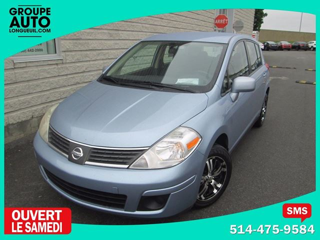 2009 Nissan Versa *AUTO*A/C*GROUPE LECTRIQUE*HATCHBACK*MAGS* in Longueuil, Quebec