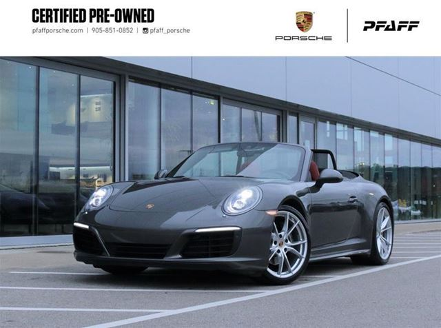 2017 Porsche 911 Carrera 4 Cabriolet PDK in Woodbridge, Ontario