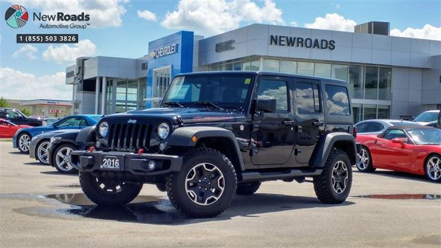 2016 JEEP WRANGLER Unlimited Rubicon Rubicon, ONE OWNER, NO ACCIDENT, NAV, 2TOPS in Newmarket, Ontario