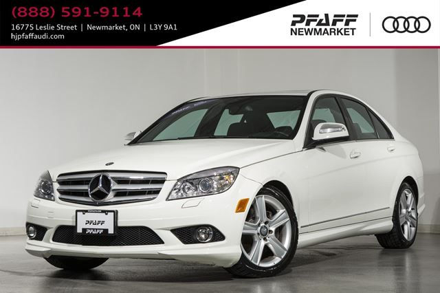 2009 MERCEDES-BENZ C-CLASS 4dr Sdn 3.0L 4MATIC in Newmarket, Ontario