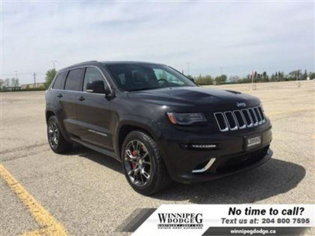 2014 Jeep Grand Cherokee SRT AWD w/Sunroof *NEW Tires* in Winnipeg, Manitoba