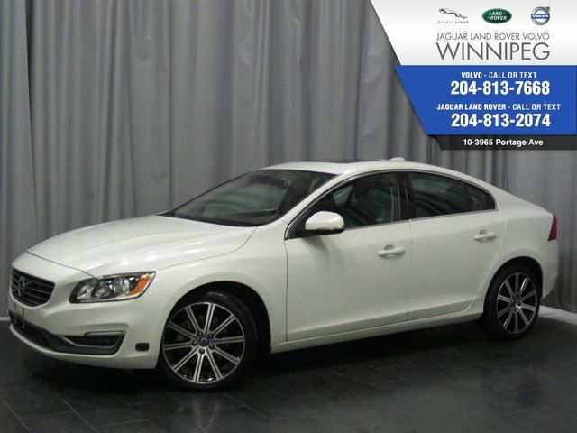 2014 VOLVO S60 T6 *ONE OWNER LOCAL TRADE* *CERTIFIED* *LOW KM* in Winnipeg, Manitoba