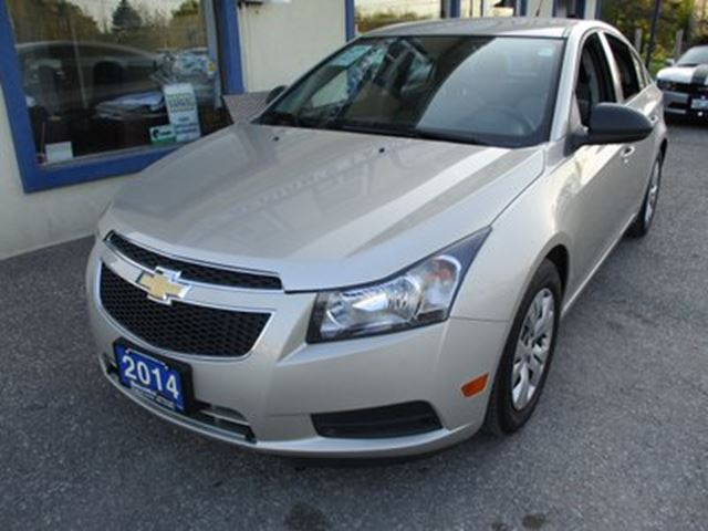 2014 Chevrolet Cruze 'GREAT KM'S' POWER EQUIPPED LT MODEL 5 PASSENGE in Bradford, Ontario