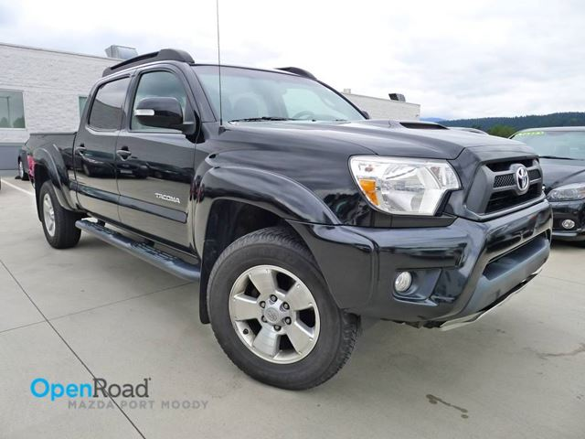 2012 TOYOTA TACOMA A/T 4WD V6 Bluetooth Leather USB AUX Rearview C in Port Moody, British Columbia