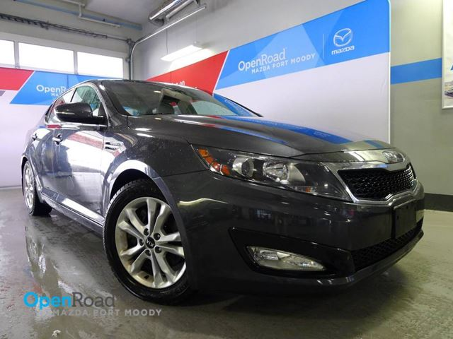 2012 KIA OPTIMA EX A/T Local One Owner Bluetooth USB AUX Leathe in Port Moody, British Columbia
