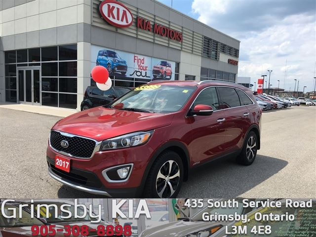 2017 KIA Sorento EX V6 COMPANY DEMO DON'T PAY FREIGHT/PDI/AIR in Grimsby, Ontario
