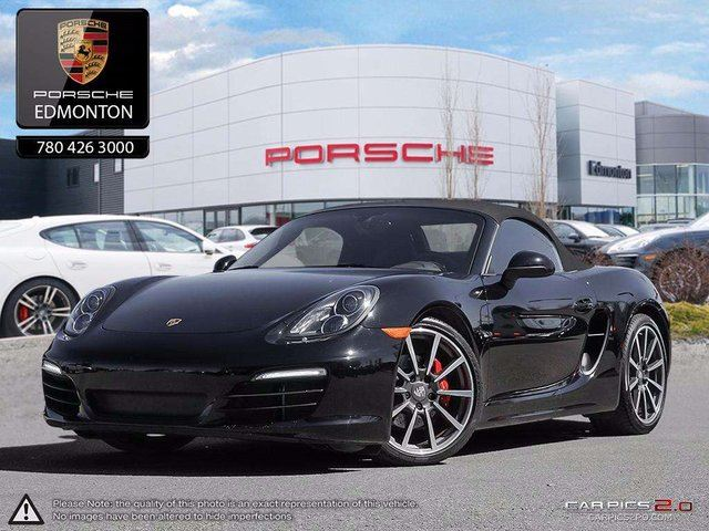 2013 Porsche Boxster Boxster S PDK - Local Edmonton Vehicle - Certified in Edmonton, Alberta