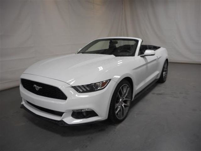 2016 Ford Mustang PREMIUM ECOBOOST CONVERTIBLE in Mascouche, Quebec