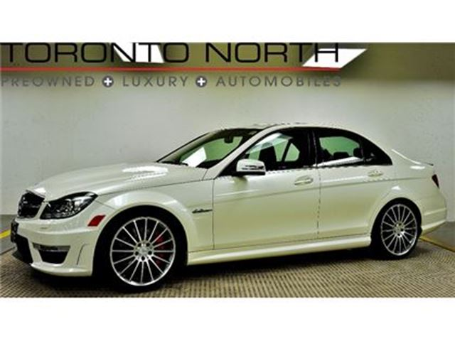 2013 MERCEDES-BENZ C-CLASS C 63 AMG PERFORMANCE PACKAGE in Toronto, Ontario