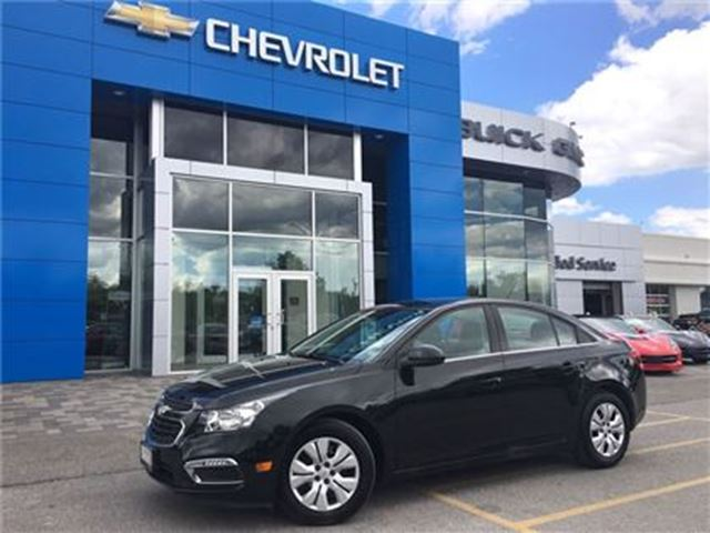 2015 Chevrolet Cruze LT AUTO BLUETOOTH REAR CAMERA REMOTE START!!! in Orillia, Ontario