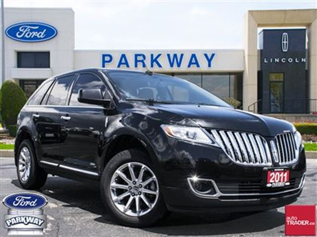 2011 LINCOLN MKX AWD  LEATHER  GPS  BLUETOOTH  SUNROOF in Waterloo, Ontario