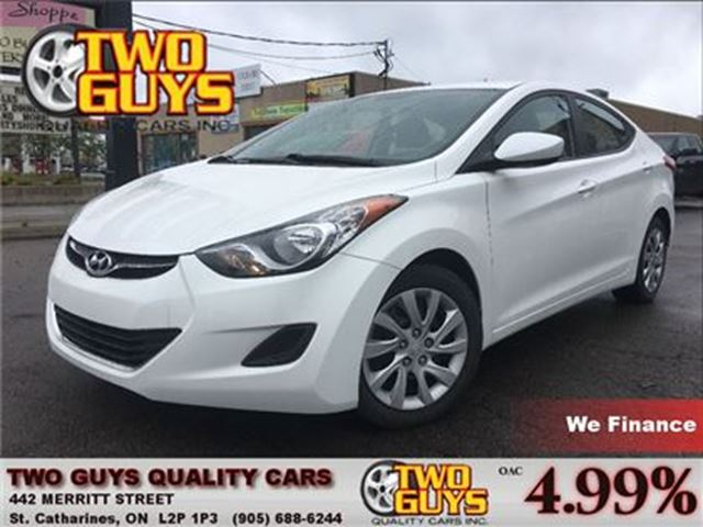 2013 Hyundai Elantra GL HEATED FRONT SEATS in St Catharines, Ontario