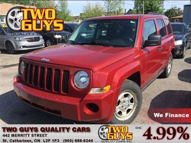2009 JEEP PATRIOT Sport/North NICE LOCAL TRADE IN COMING SOON!!! in St Catharines, Ontario