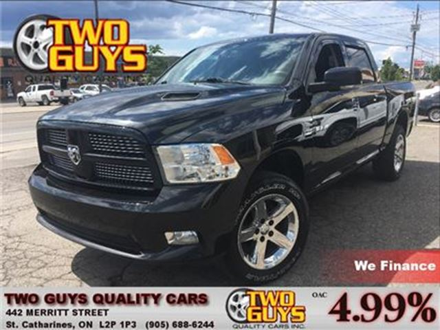 2010 DODGE RAM 1500 ST LEATHER/CLOTH INTERIOR in St Catharines, Ontario