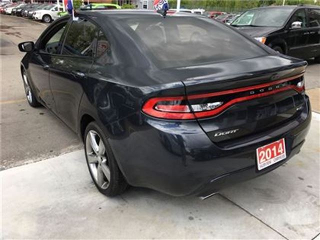 used 2014 dodge dart gt auto leather gps. Black Bedroom Furniture Sets. Home Design Ideas