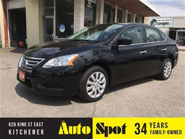 2014 NISSAN SENTRA SV/LOW, LOW KMS/PRICED FOR A QUICK SALE! in Kitchener, Ontario