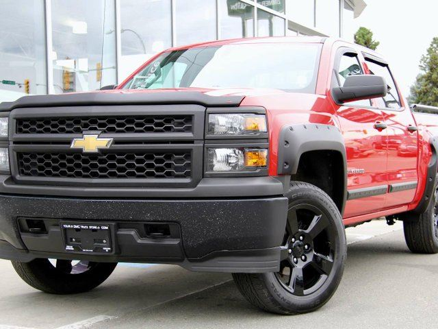 2015 CHEVROLET SILVERADO 1500 Certified | Accident Free | Rear Vision Camera | V8 5.3L Ecotech | in Kamloops, British Columbia