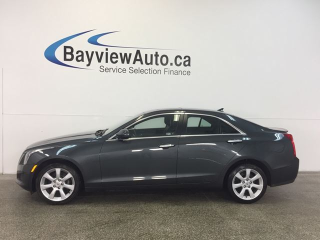 2014 CADILLAC ATS - AWD! TURBO! SUNROOF! LEATHER! BOSE! REV CAM! in Belleville, Ontario